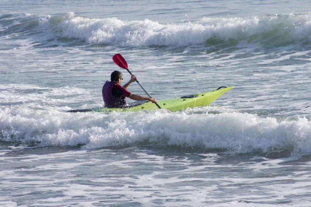 kayak vague